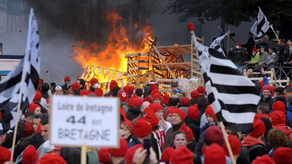 Unruhen in Frankreich: Die Wut der Rotmützen