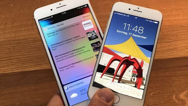 Unser Testbericht von 2017: iPhone 8 und iPhone 8 Plus im Test