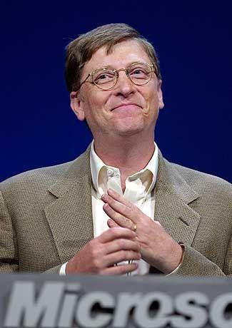 """Freut sich über """"neue"""" Entwicklungen: Bill Gates"""