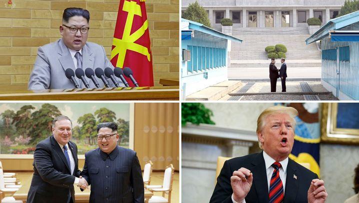 Trump sagt Nordkorea-Gipfel ab: Ein Schritt vor, zwei zurück