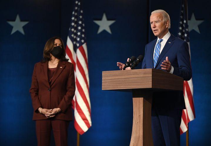 Biden and Harris: An immense task ahead