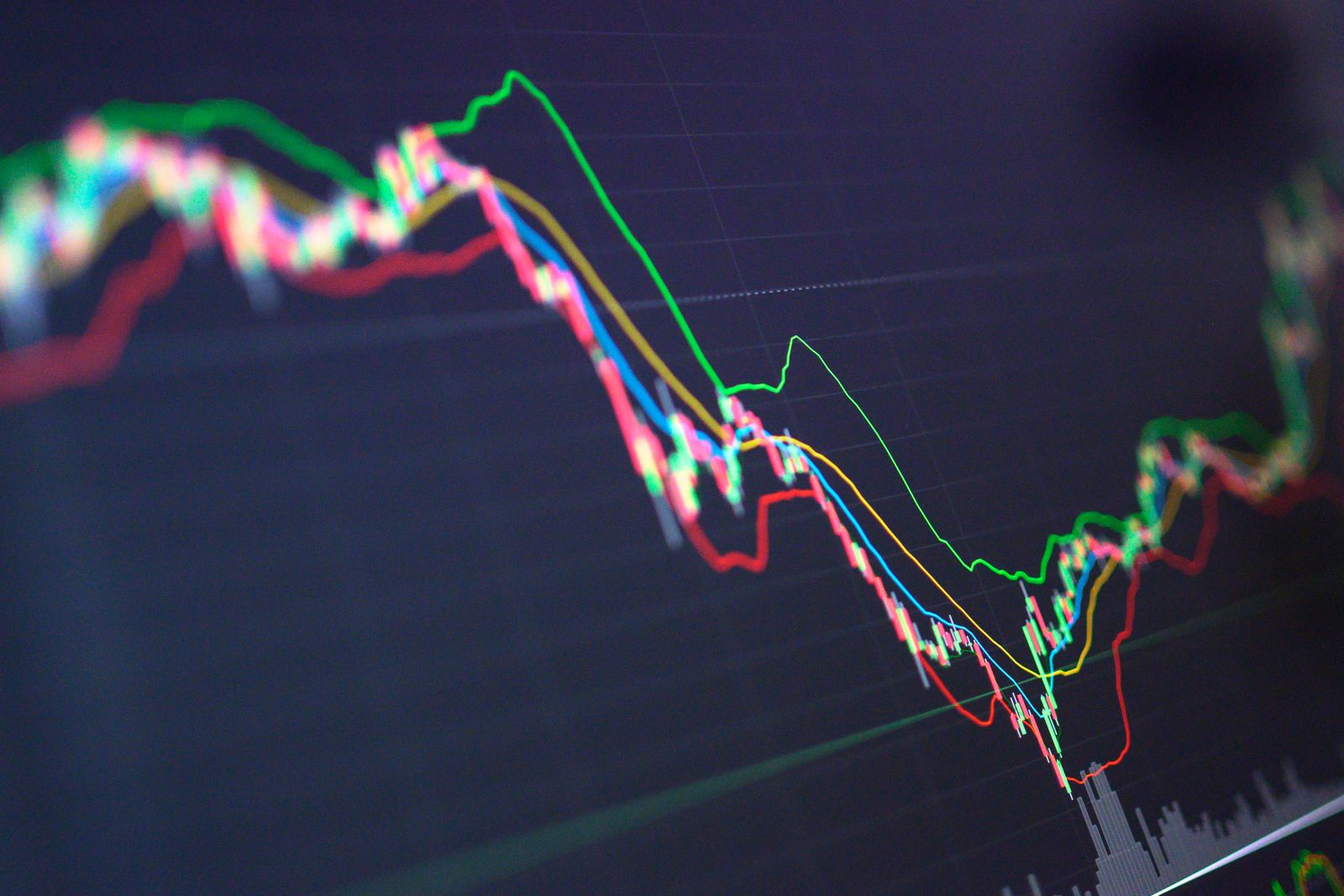 Stockmarket crash and Financial crisis Investment theme stockmarket and finance business analysis stockmarket