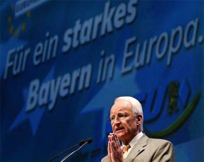 CSU-Chef Edmund Stoiber: München ist schöner als Brüssel