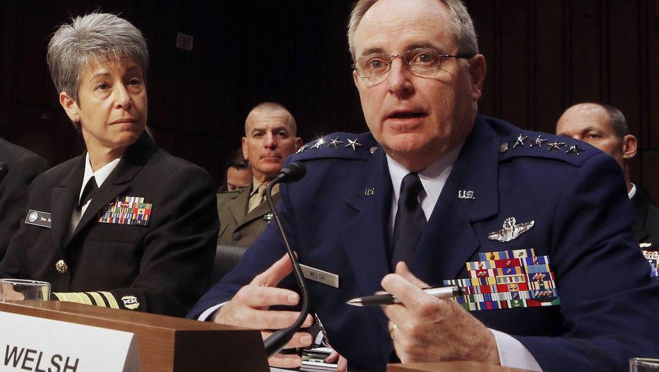 US-Luftwaffen-Stabschef Mark Welsh: Beklagt größten Skandal in der Geschichte