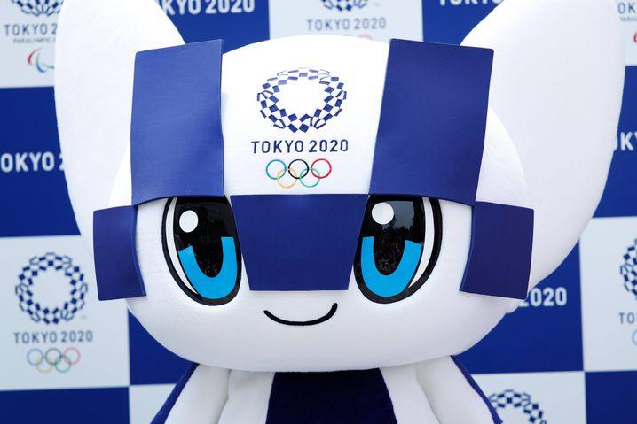 Maskottchen der Olympischen Spiele in Tokyo