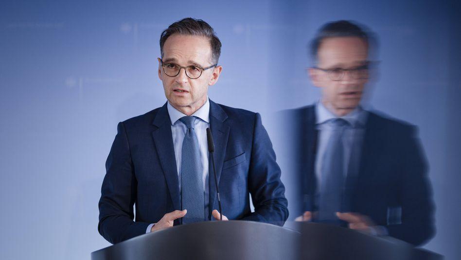"""Heiko Maas: """"Es gibt Fragen, die müssen irgendwann beantwortet werden"""""""