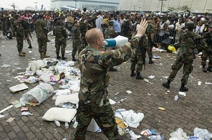 New Orleans: Nationalgarde versucht die Ordnung wieder herzustellen