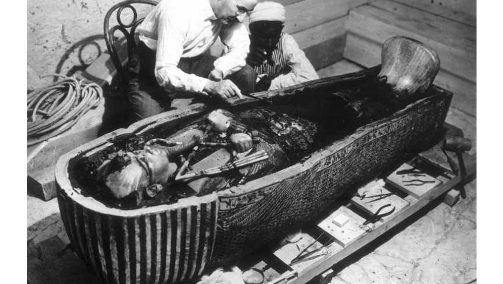 "Entdeckung des Tutanchamun-Grabes: ""Ich sehe wunderbare Dinge!"""