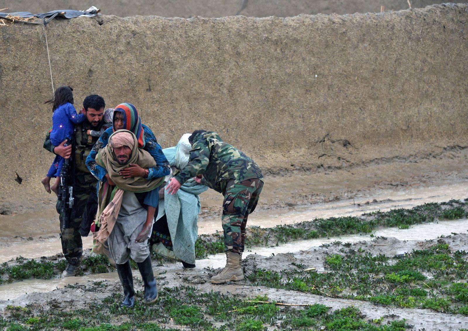 Unwetter in Afghanistan