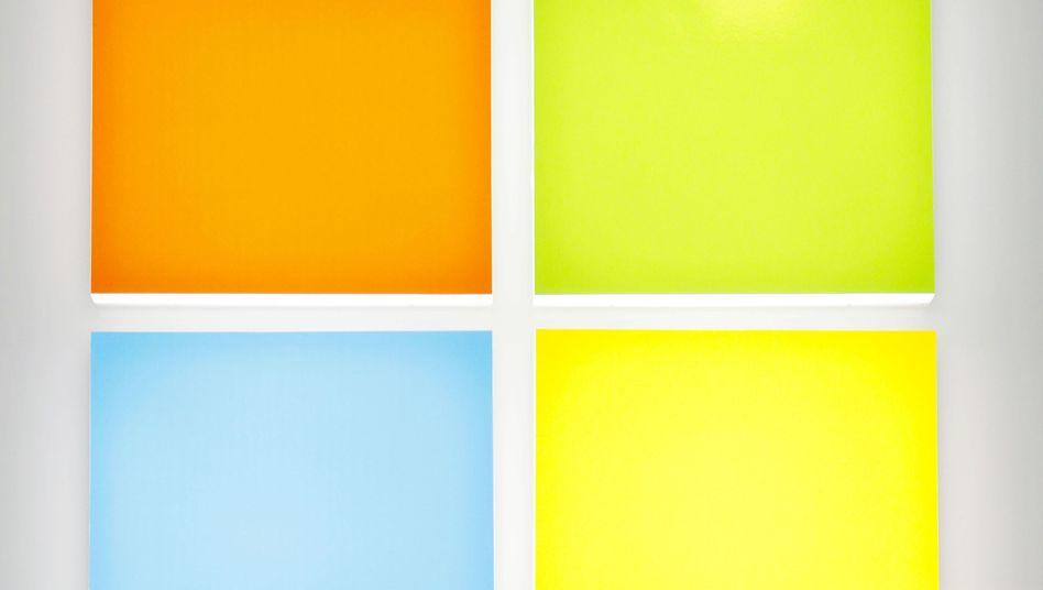 Microsoft-Logo: Mehrere Computer mit Schadsoftware infiziert