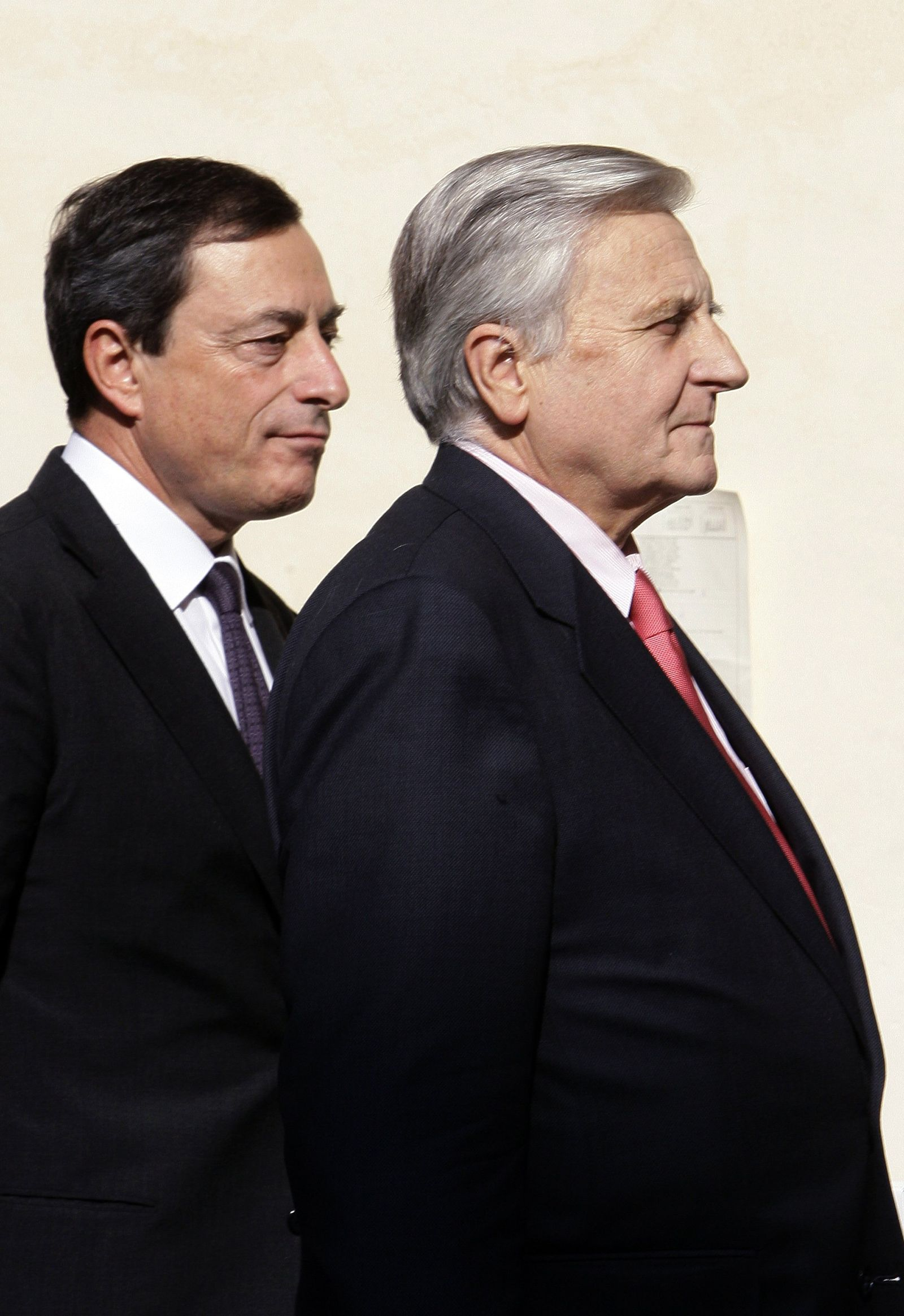 Trichet Draghi