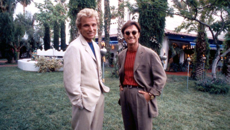 Undatierte Aufnahme von Siegfried und Roy: Duo mit großer Karriere