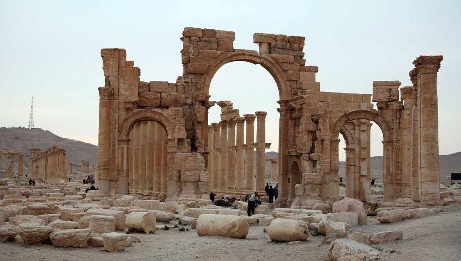 """Palmyra vor der Eroberung durch den """"Islamischen Staat"""""""