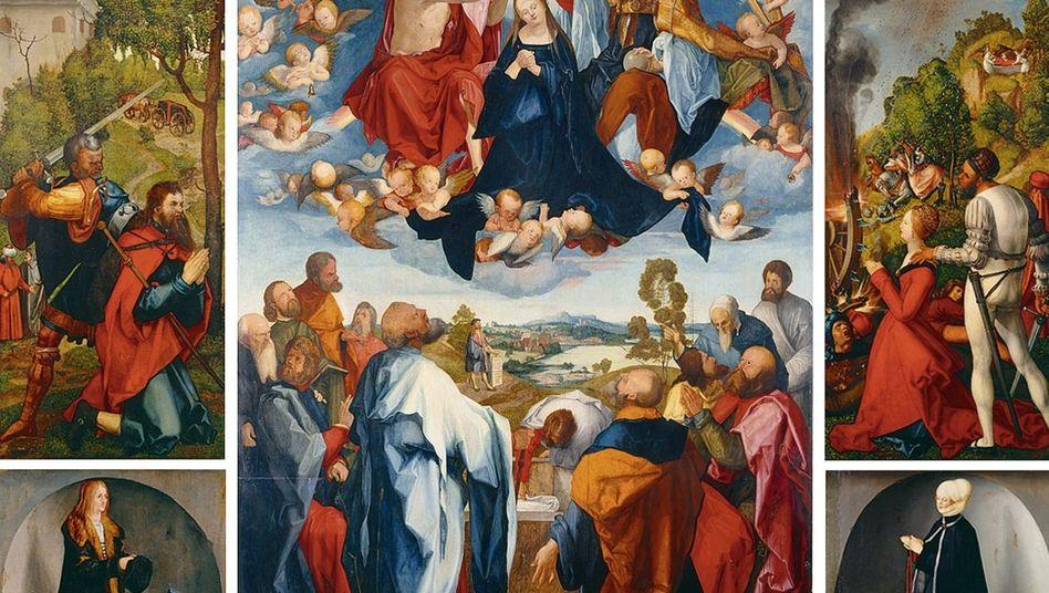 Dürer-Werk »Heller-Altar«, 1507-1509