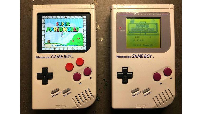 Neuer und alter Gameboy