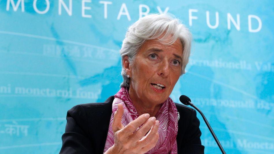 """IWF-Chefin Lagarde: """"Die Bundesregierung könnte gegensteuern"""""""