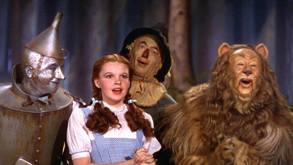 Szene aus »Der Zauberer von Oz« von 1939: Irgendwo über dem Regenbogen