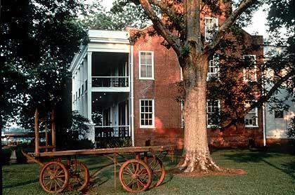 Lloyd Hall Plantation - ländliche Idylle und elegante Architektur