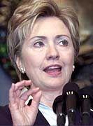 Hillary Clinton: 30 Prozent der Demokraten würden ihr folgen