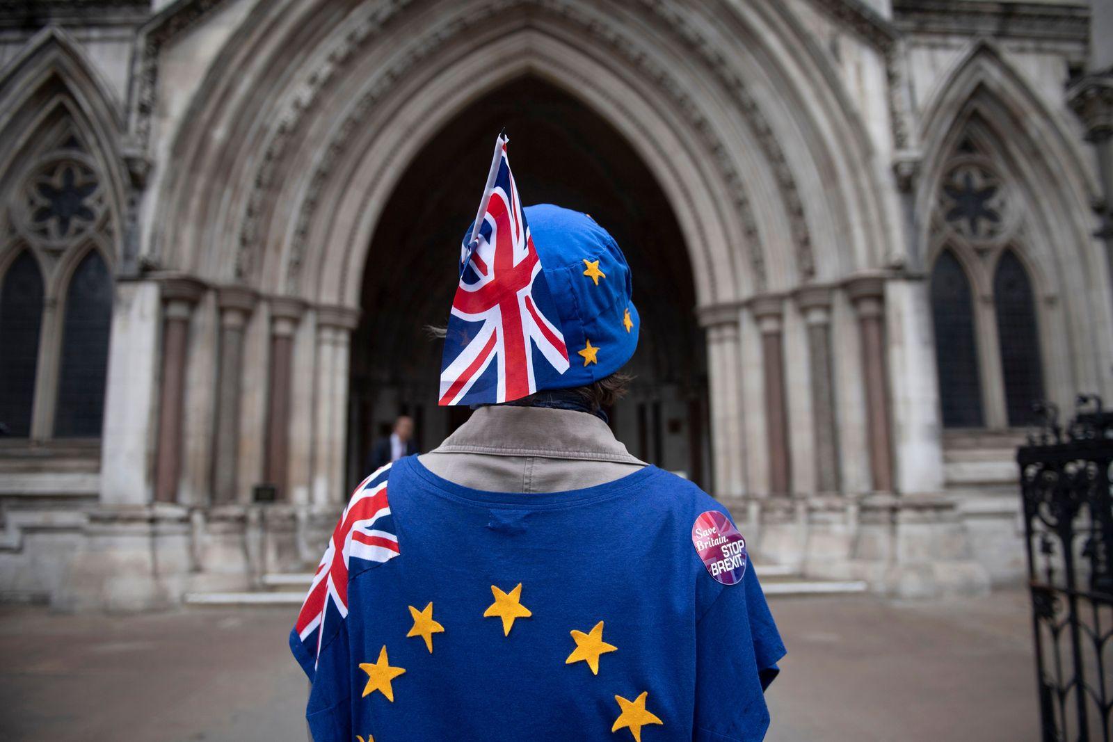 EINMALIGE VERWENDUNG Brexit