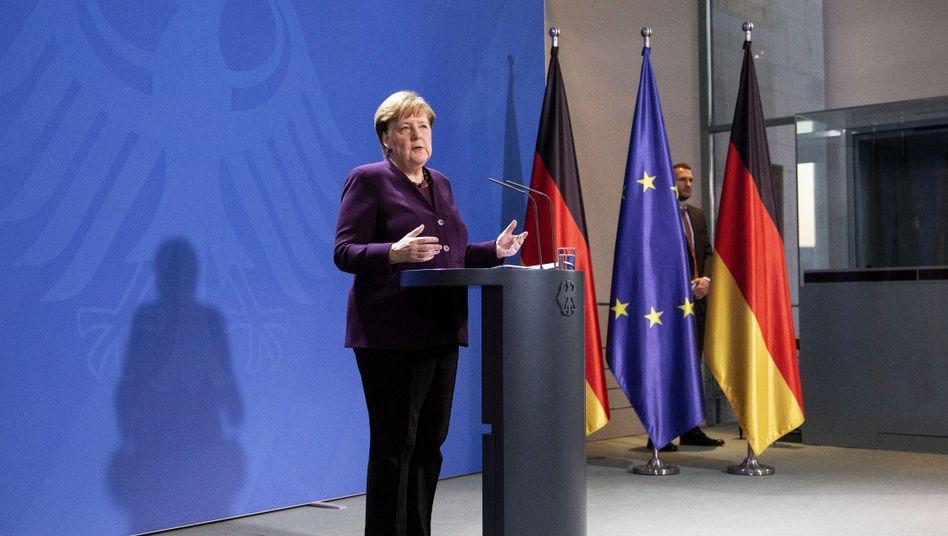 Coronavirus - Angela Merkel verkündet Maßnahmen:
