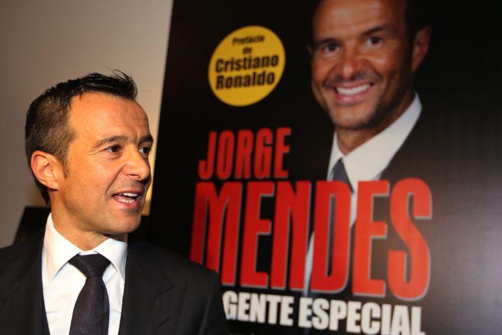 Immer und überall: Jorge Mendes. Gründer von Gestifute, der größten Spieleragentur