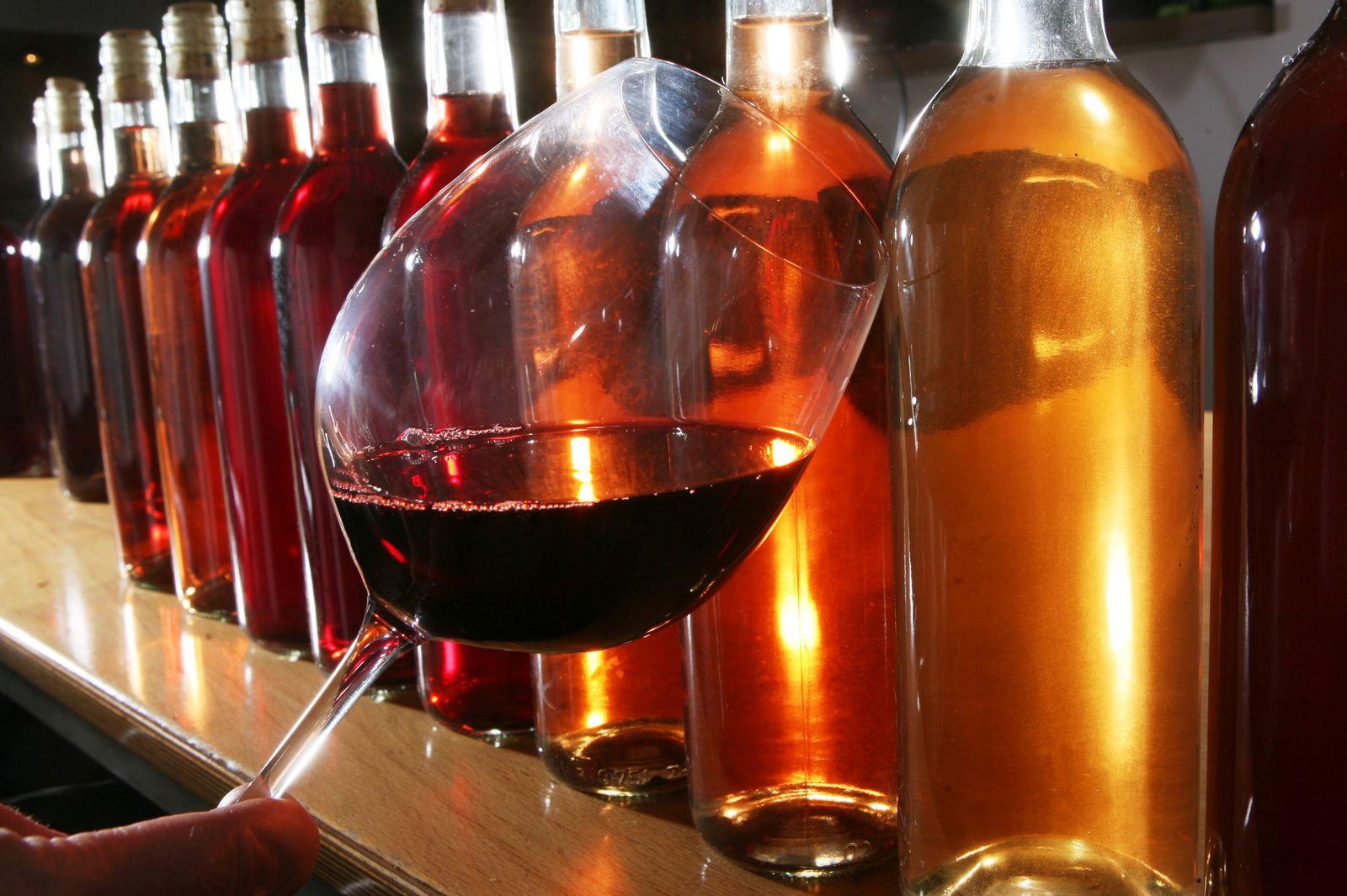 Rotwein / Weinglas