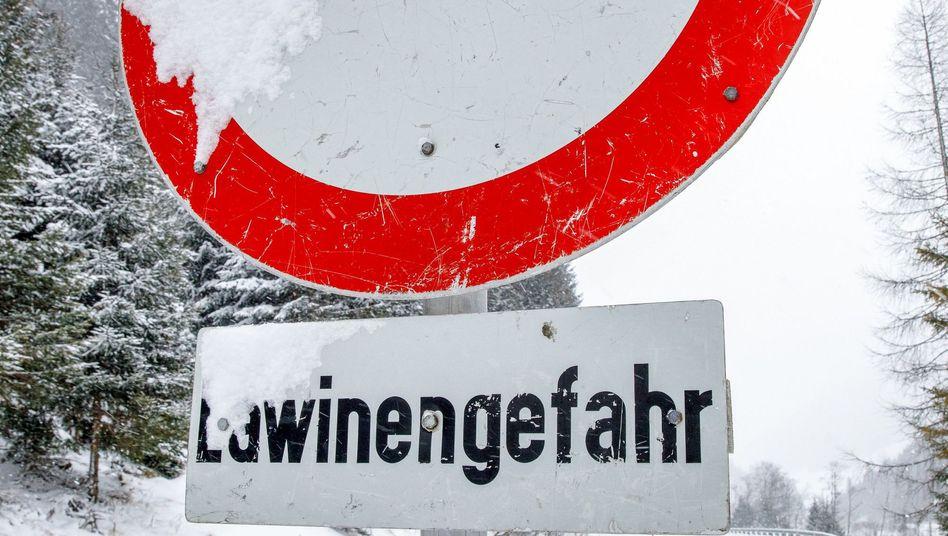 Lawinengefahr in Österreich (Symbolbild)
