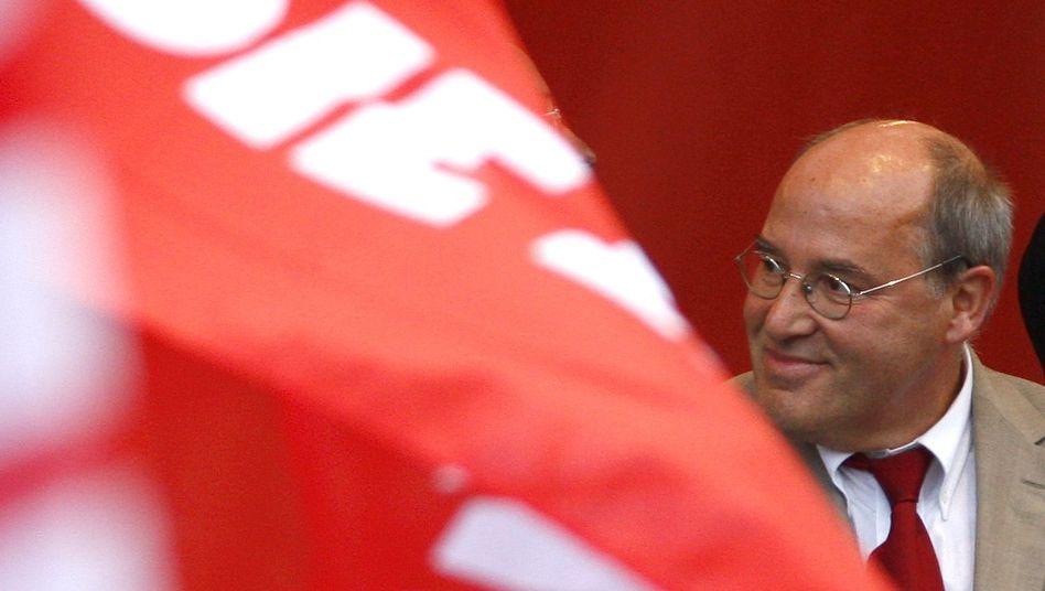 """Linkspartei-Politiker Gregor Gysi: """"Reichtum für alle"""""""