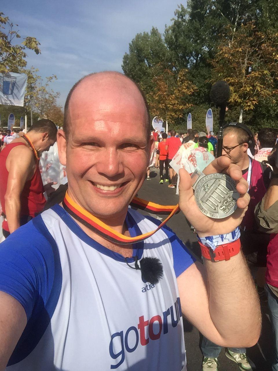 EINMALIGE VERWENDUNG Micha Klotzbier/ Berlin Marathon