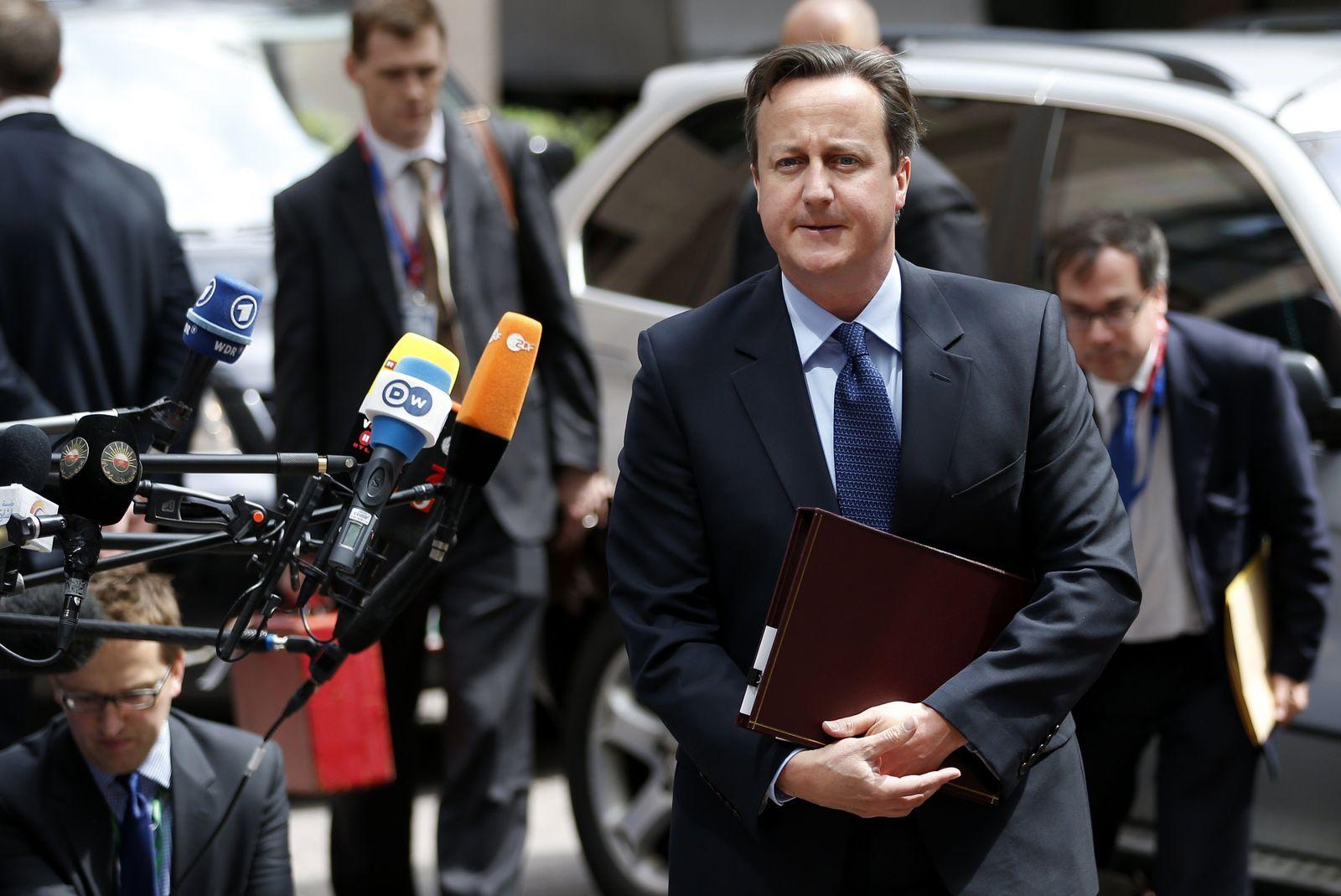 EU Summit Cameron