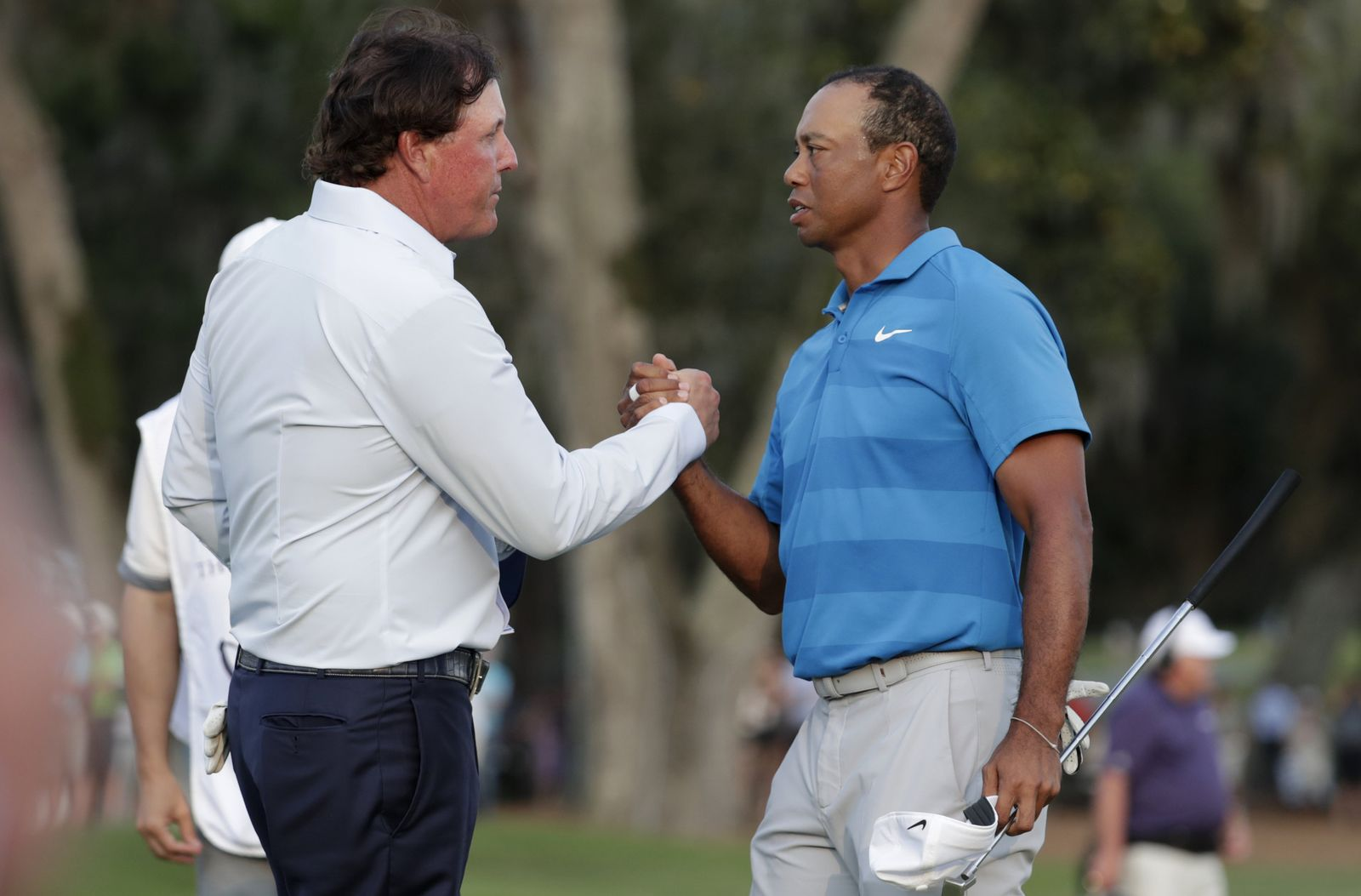 Woods Mickelson Golf