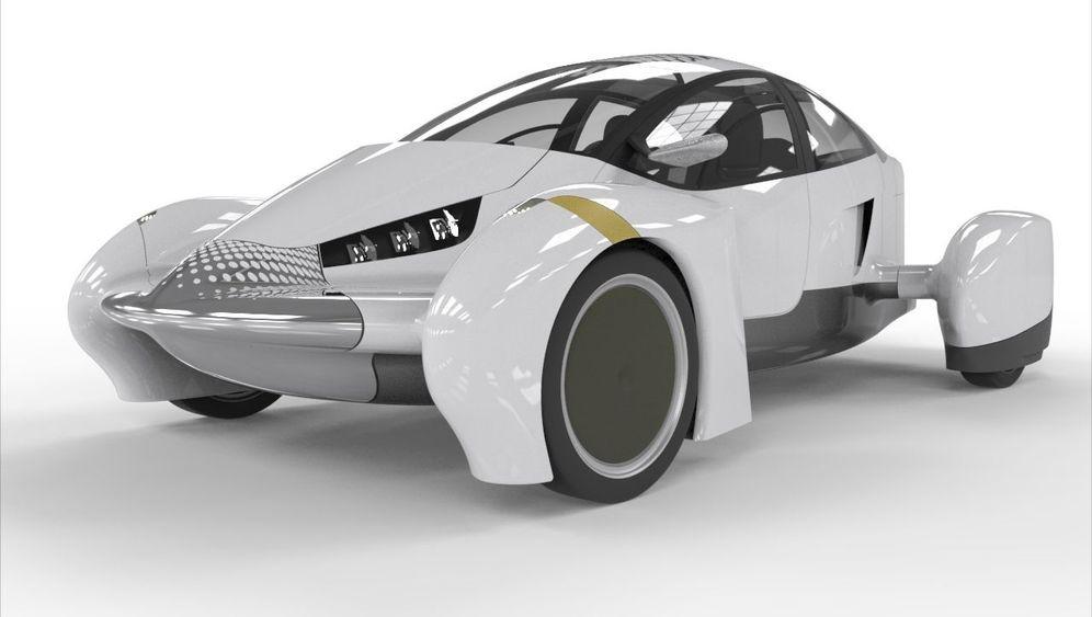 Ultraleicht-Auto: Schnittig in die Zukunft