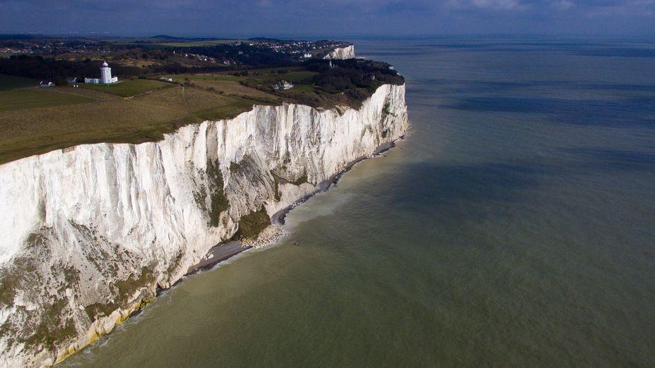 Aufbruch zu neuen Ufern.. Die weißen Klippen von Dover.