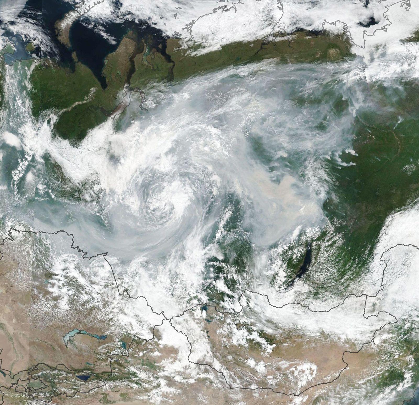 Russland/ Brände