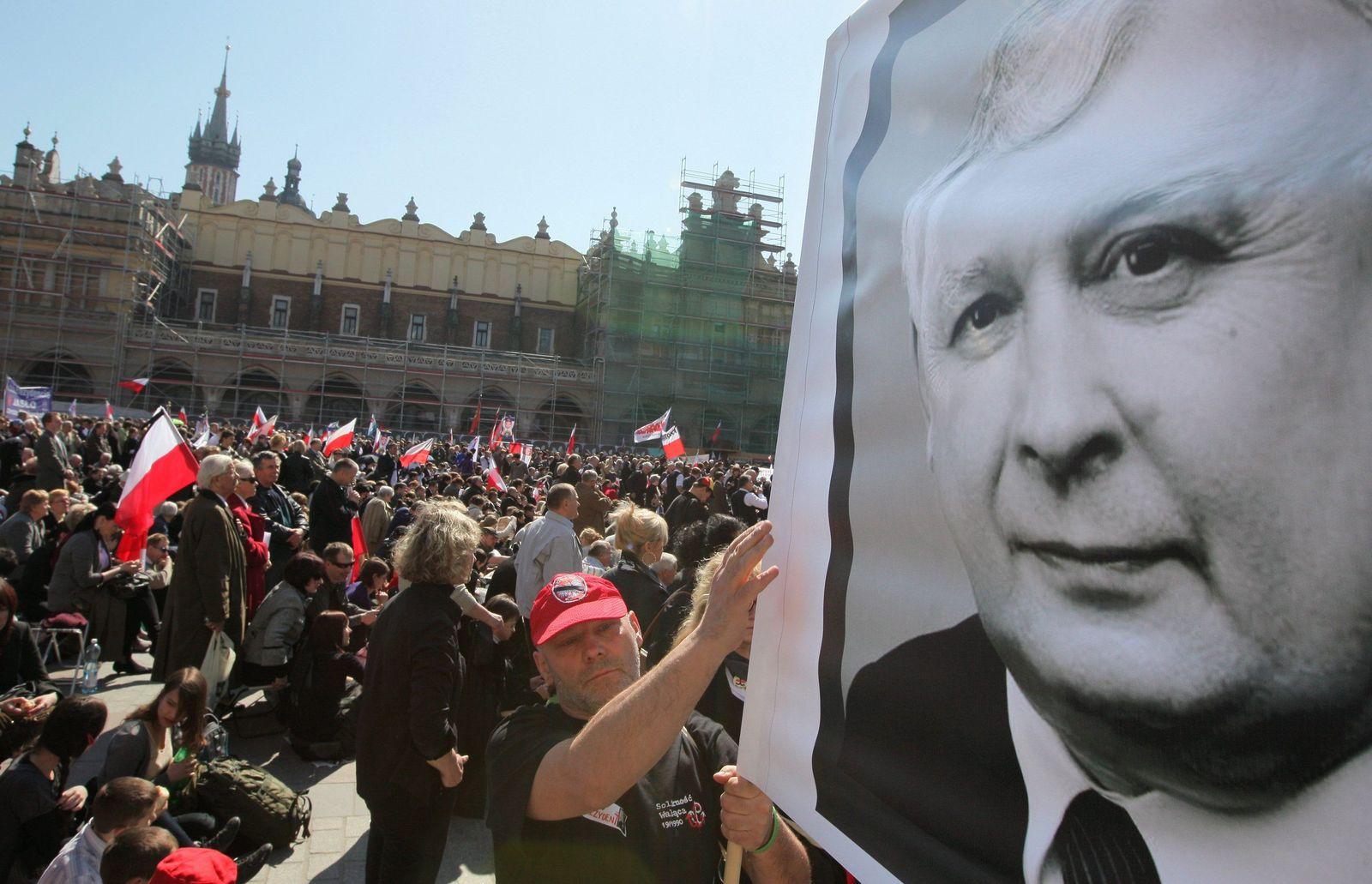 Polnisches Präsidentenpaar wird auf Wawel-Burg beigesetzt werden