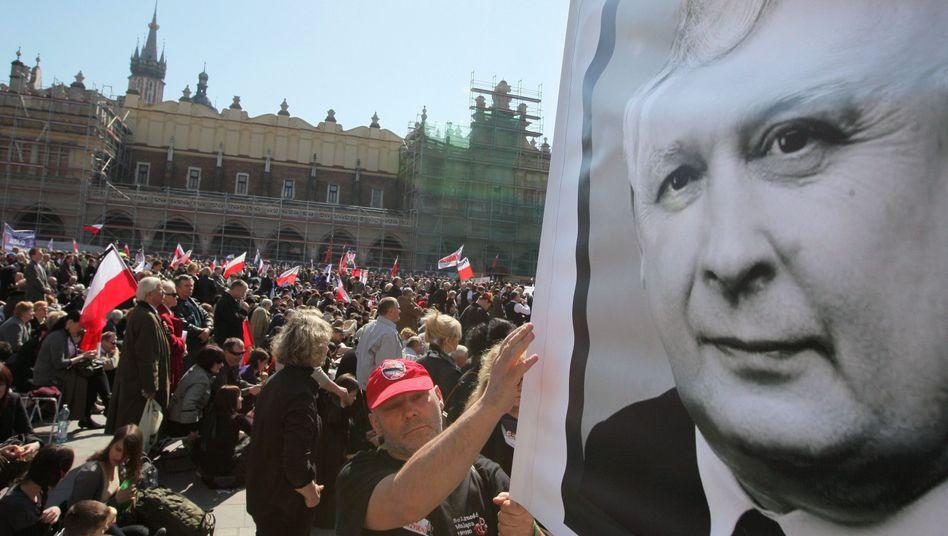 Trauerfeier für Lech Kaczynski 2010