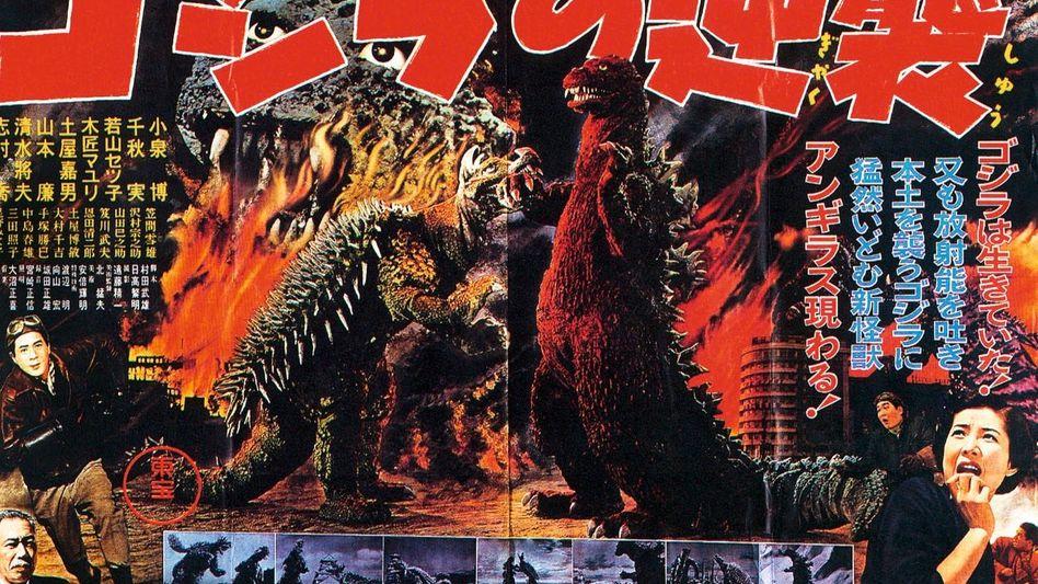 »Godzilla«-Plakat, 1955