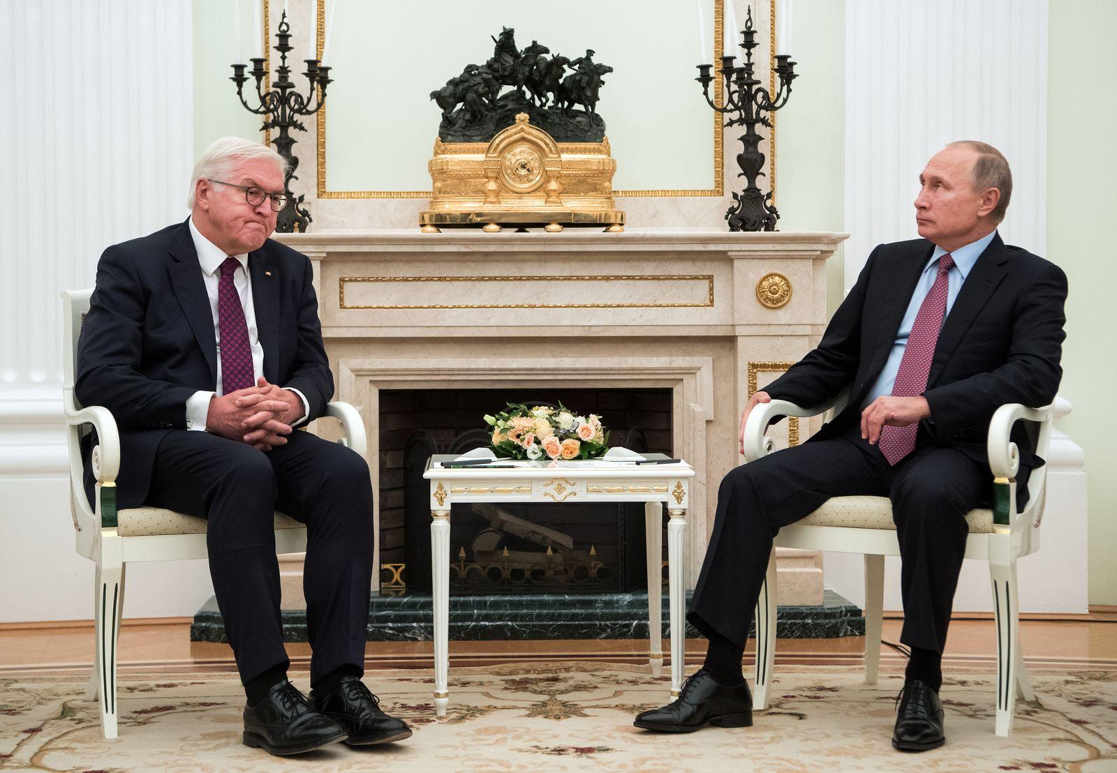 Bundespräsident Steinmeier in Moskau
