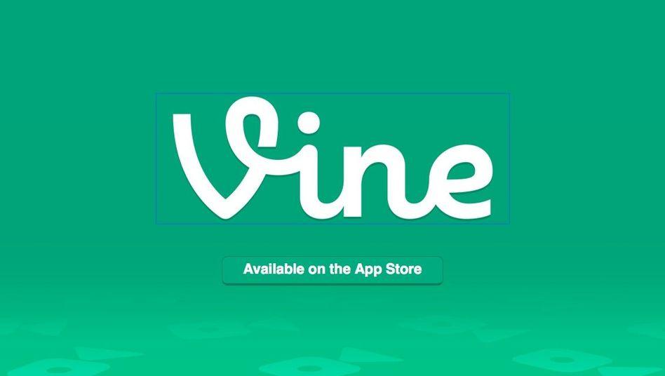 Vine-Logo: Mit der App lassen sich kurze Clips aufnehmen und auf Twitter teilen