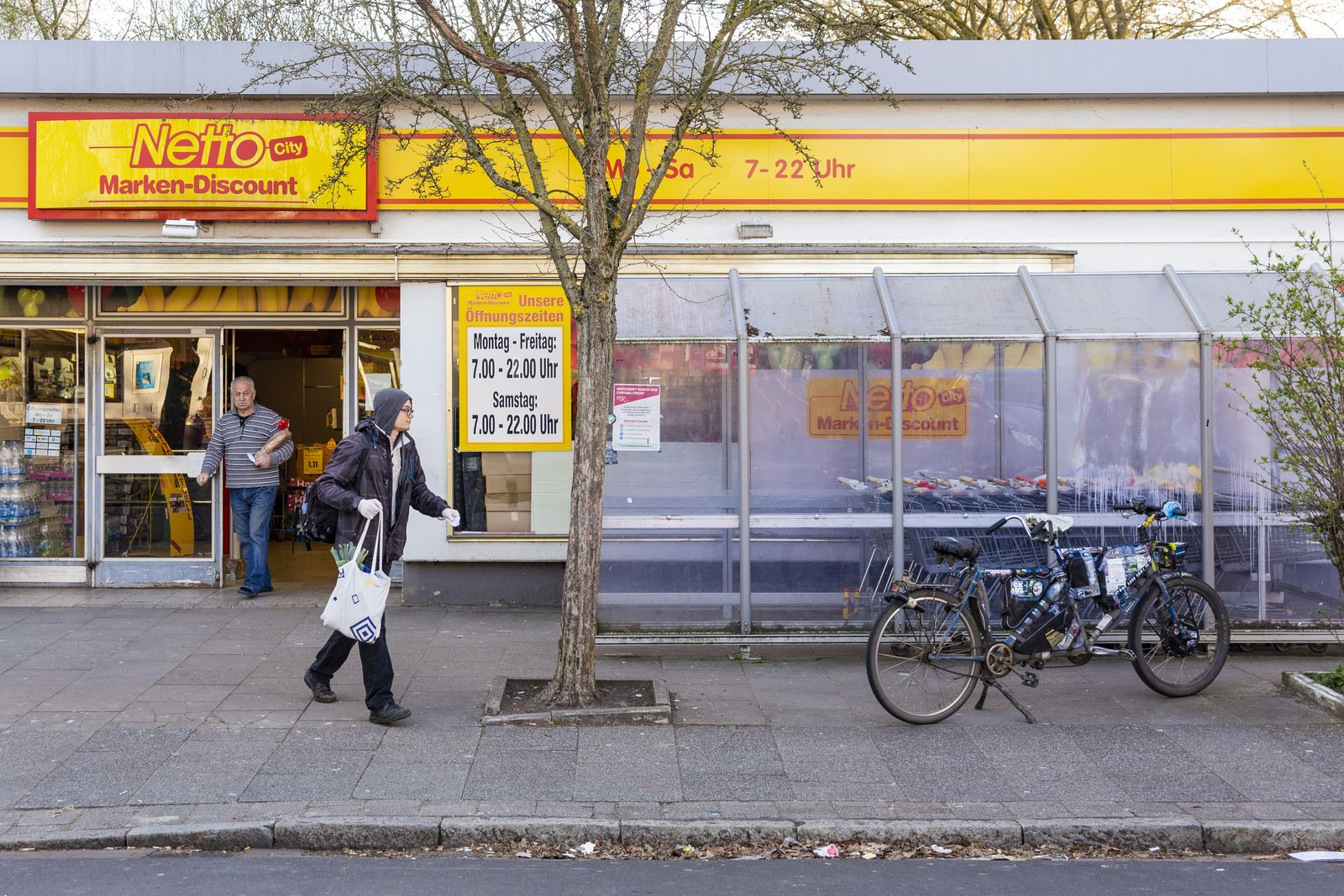 Corona/ Bremen/ Nachbarschaftshilfe