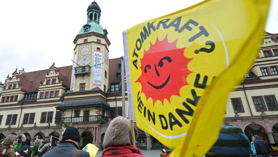 Demo gegen Atomkraft (2012 in Leipzig)