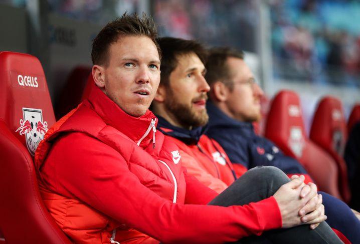 """Julian Nagelsmann trainiert seit Sommer 2019 RB Leipzig: """"Taktisch hat er mich nicht überrascht"""""""