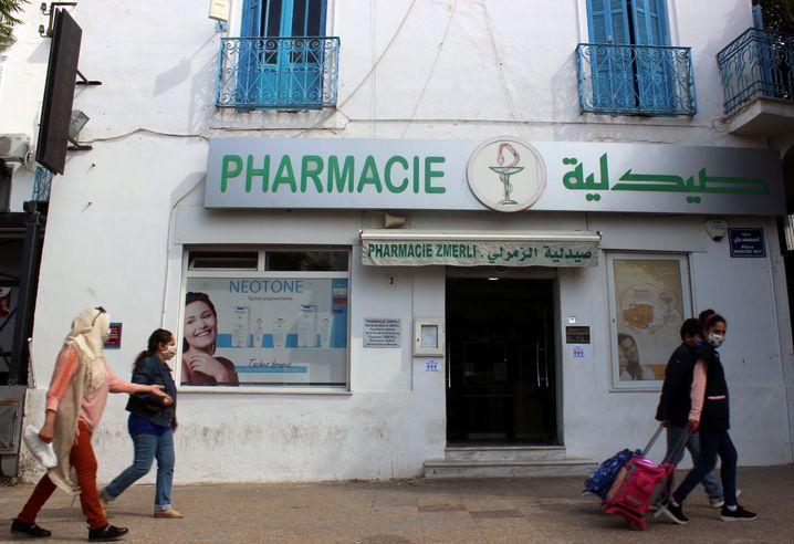 Apotheke in der tunesischen Hauptstadt Tunis