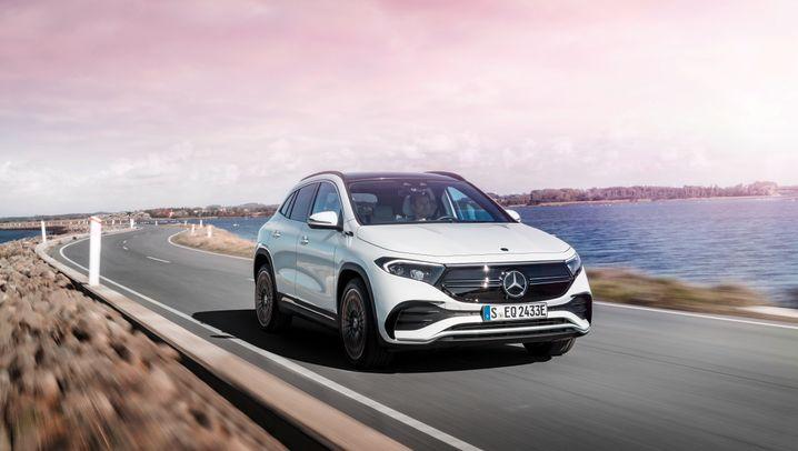 Mercedes EQA — elektrisch als Kompromiss