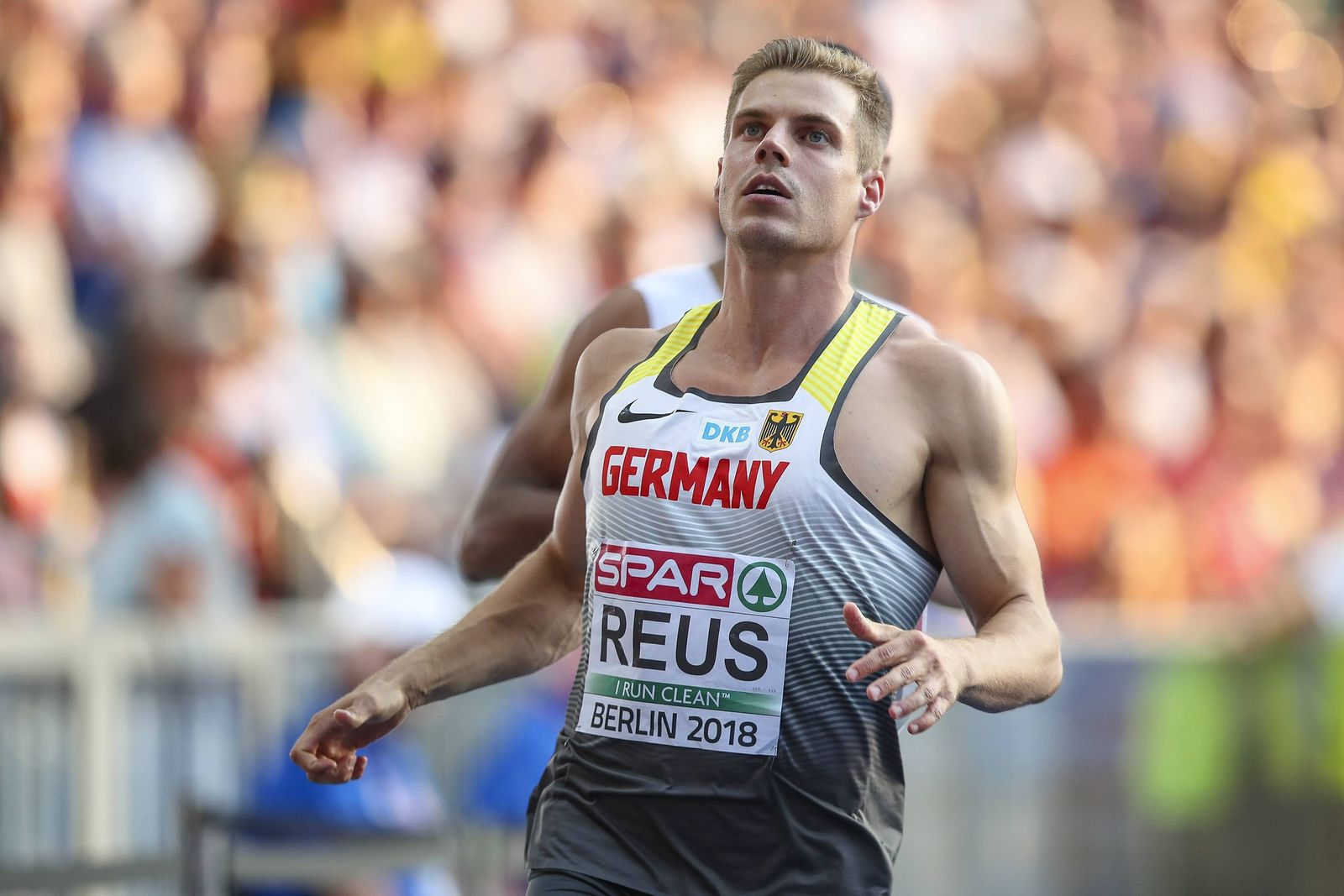 European Athletics Championships Berlin 07 08 2018 Julian Reus GER LAC Erfurt Top Team Europ