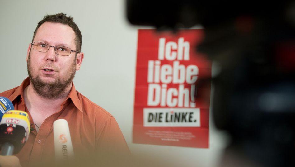 Linken-Politiker Richter: Hetze in einschlägigen Facebook-Gruppen