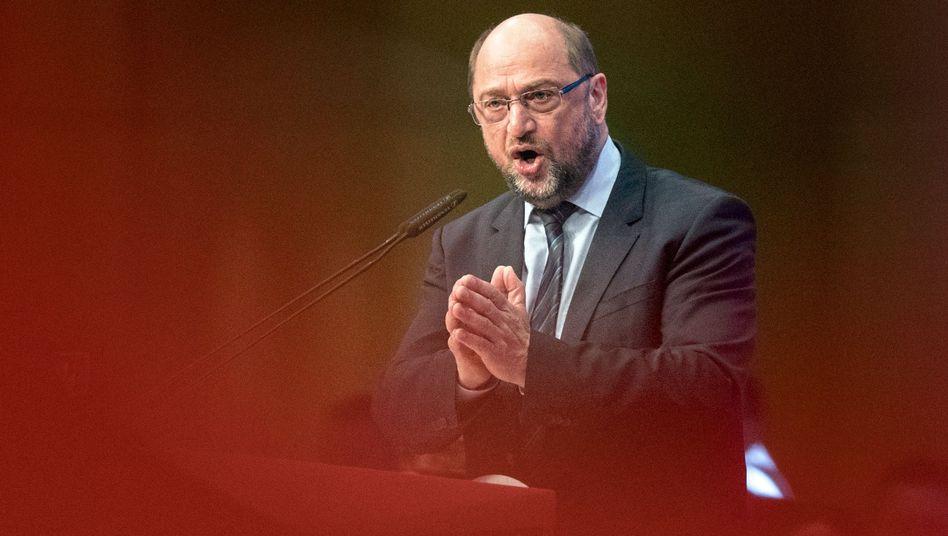 Martin Schulz (Archivbild April 2018)