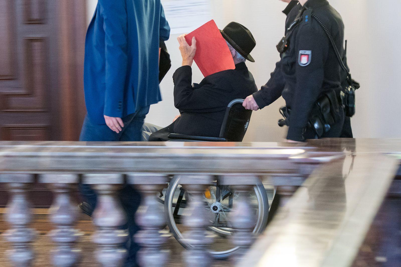Fortsetzung Prozess gegen ehemaligen SS-Wachmann