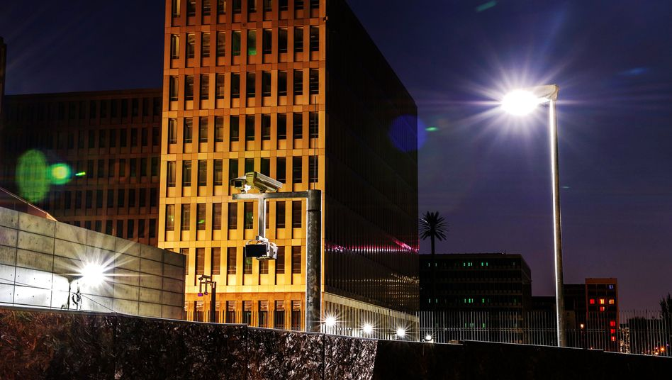 The BND's future headquarters in Berlin